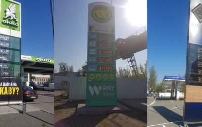 На АЗС резко подорожали бензин и дизель