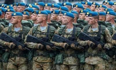 Украина увеличила расходы на армию