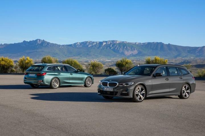 BMW раскрыла внешность нового универсала 3-Series (фото)