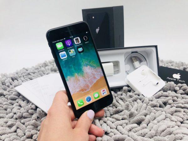 Купить б/у iPhone 8 вы без каких-либо проблем можете в интернет-магазине «Техно Ёж»