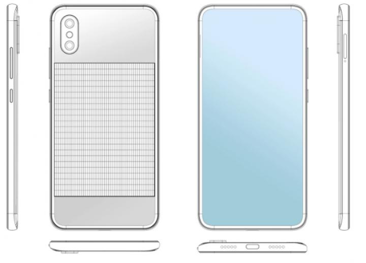 Xiaomi готовит эко-смартфон с солнечной батареей (фото)