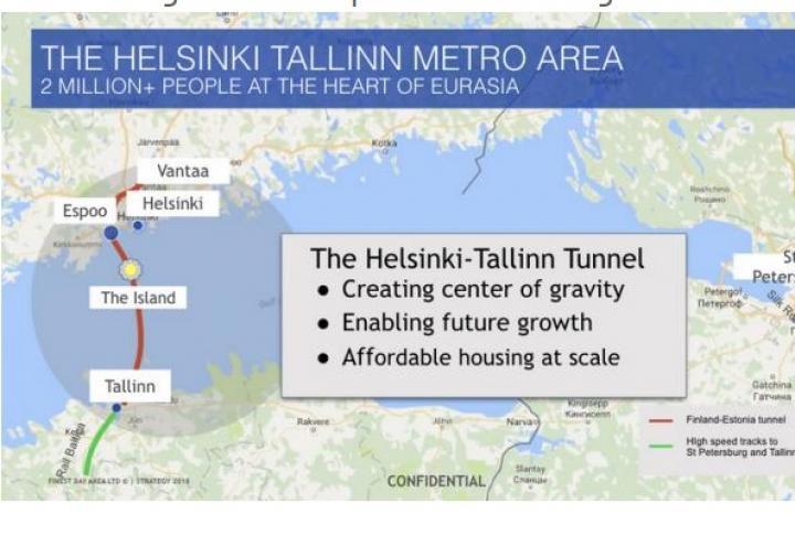 Проект самого длинного подземного тоннеля под угрозой (карта)