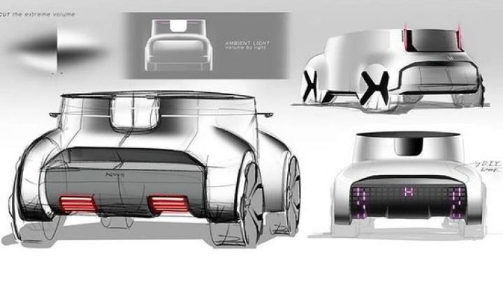 Honda показала маленькую концепцию Skyroom (фото)