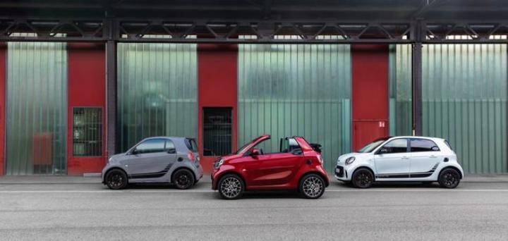 Mercedes презентовал линейку электрических Smart (фото)