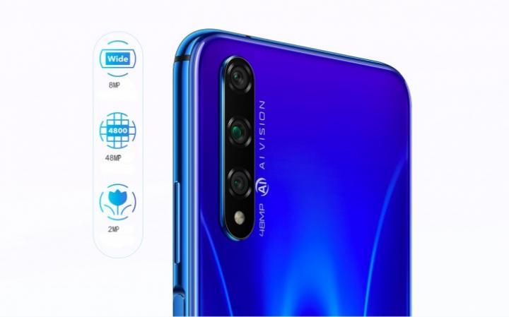 Huawei официально представила Honor 20S (фото)