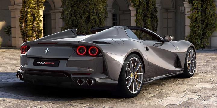 Ferrari представила самый мощный кабриолет в мире (фото)