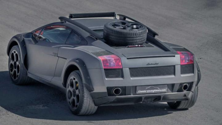 Представили внедорожную версию Lamborghini Gallardo (Фото)