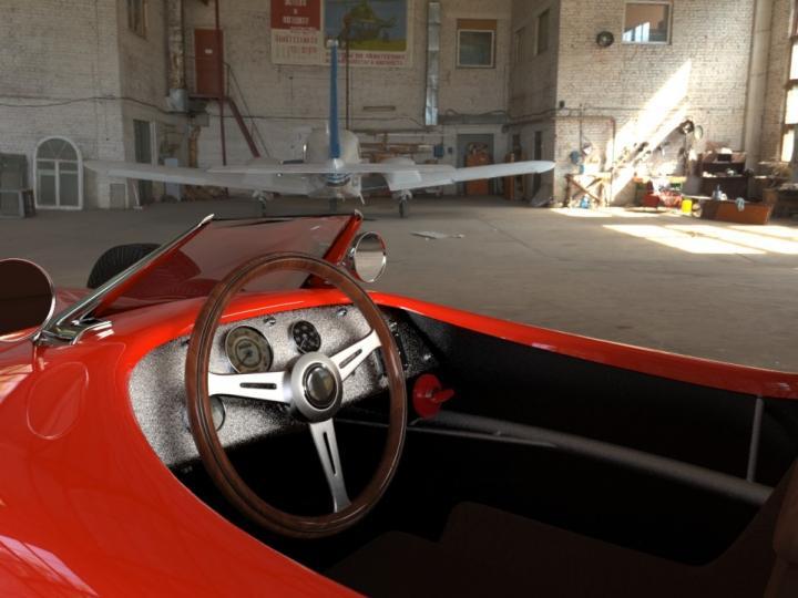 В Украине создали концепт электромобиля с запасом хода 500 км (фото)