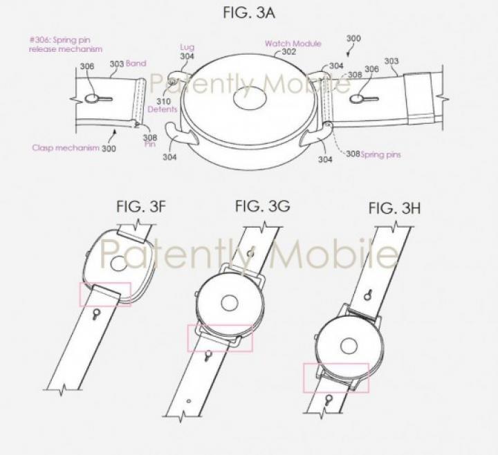 Google покажет свои первые умные часы (схема)