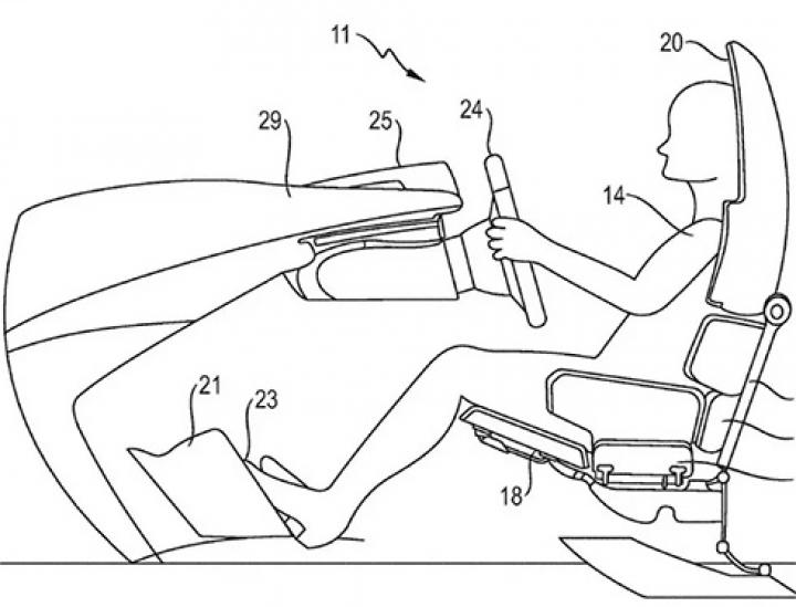 Porsche придумала кресло-кровать для водителя (фото)