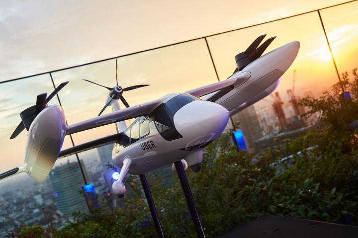 Uber показала дрон для доставки еды (фото)