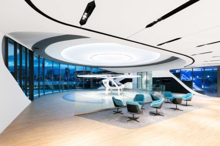 Volocopter показал прототип воздушного терминала для аэротакси (фото, видео)