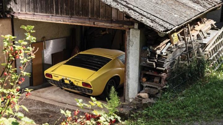 Забытую Lamborghini 1969 года продали за  ,6 млн (фото)