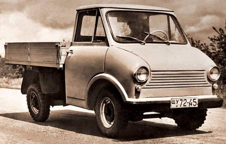 В Сети показали грузовичок, который хотел выпускать ЗАЗ