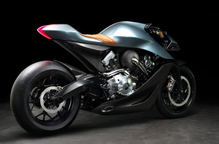 Aston Martin выпустил первый мотоцикл (фото)