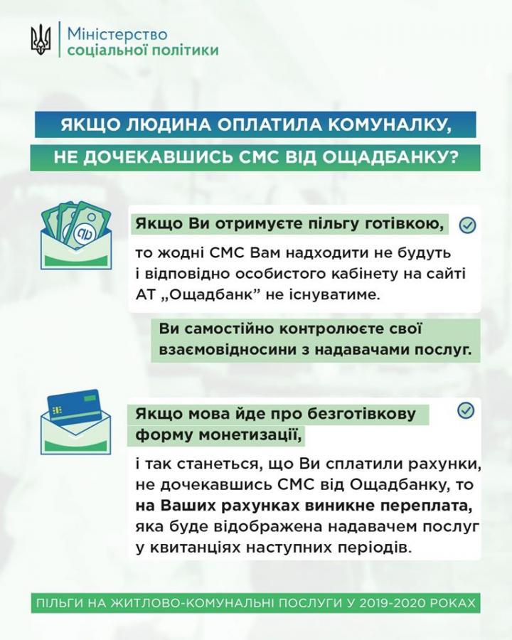 В Минсоцполитики дали советы украинцам, оплатившим коммуналку до начисления субсидии