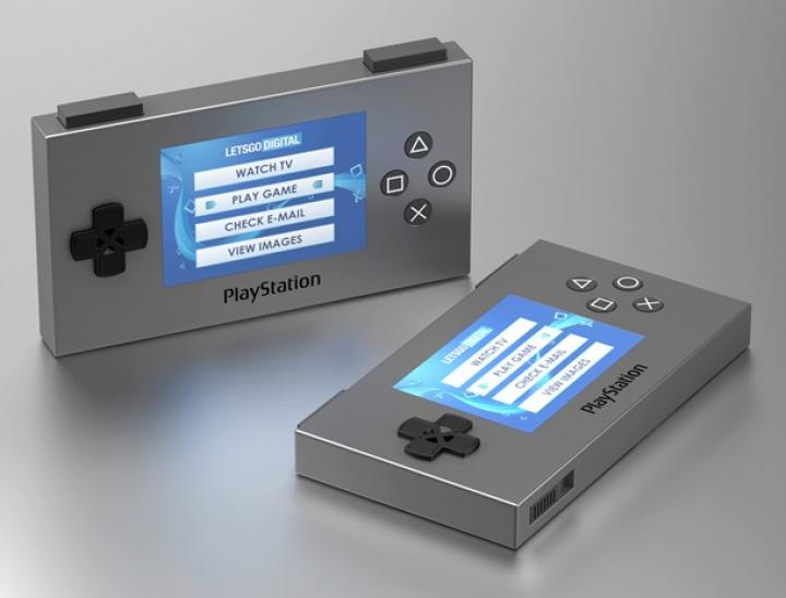 Sony запатентовала портативную