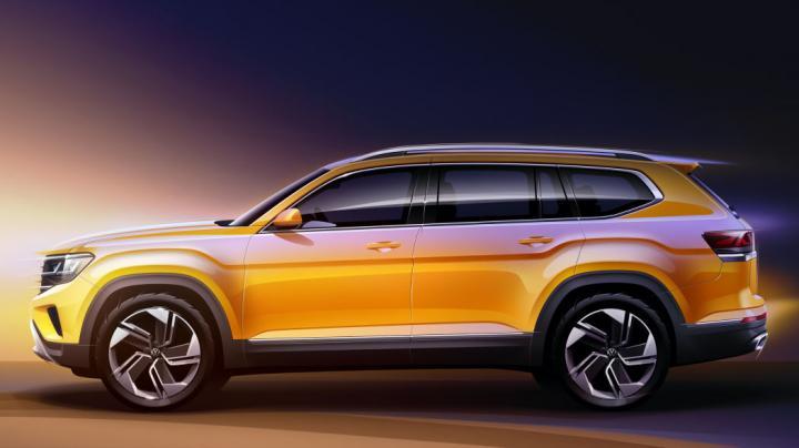 Новый VW Atlas получит дизайн в стиле Atlas Cross Sport (фото)