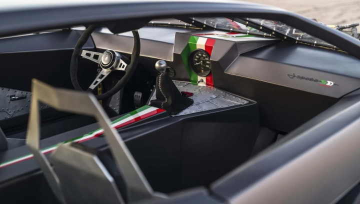 Единственный в мире рет-род Lamborghini Espada выставили на аукцион