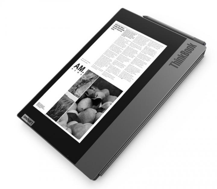 Lenovo показала ноутбук с дополнительным дисплеем на крышке (фото)