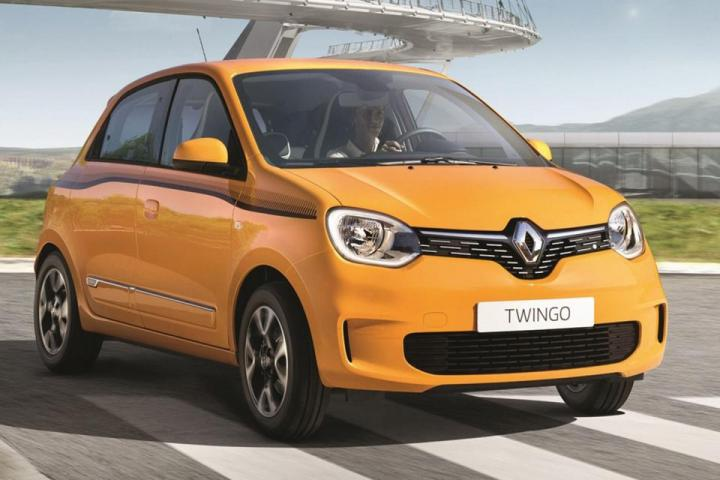 В 2020 году начнутся продажи Renault Twingo Z.E. (фото)