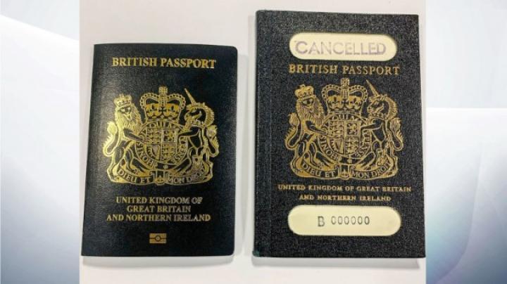 Великобритания введет новые паспорта после Brexit (фото)