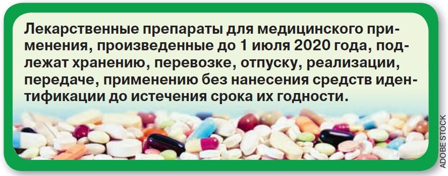 В России будут продавать «закодированные» лекарства