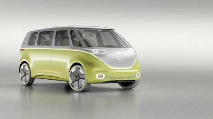 В Германии начнут выпускать новый VW Microbus (фото)