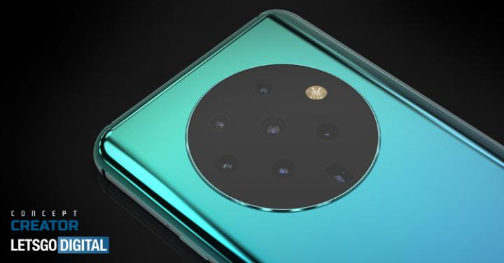 OPPO проектирует смартфон с 7-компонентной камерой (фото)