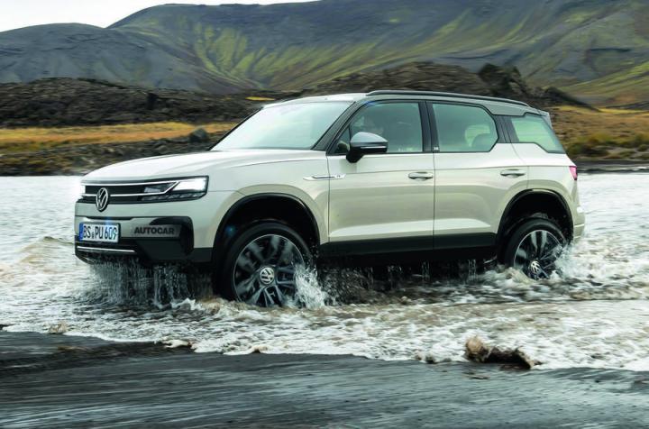 Volkswagen анонсировала новый электрический внедорожник (фото)