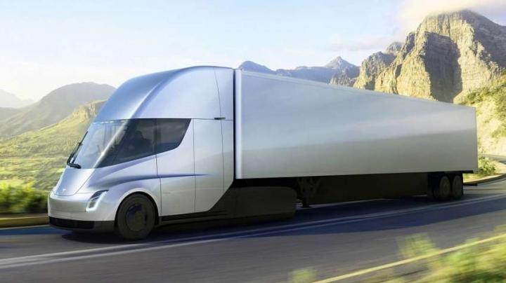 Tesla Semi прошли испытания на зимнем полигоне