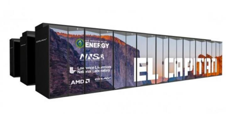 AMD анонсировала самый мощный суперкомпьютер в мире (фото)