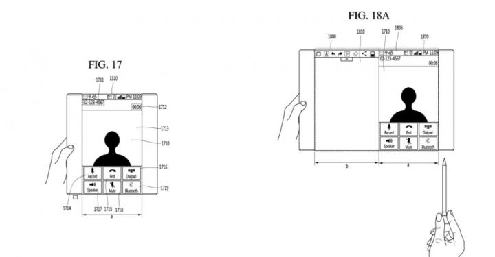LG запатентовала смартфон с «рулонным» дисплеем и стилусом (фото)