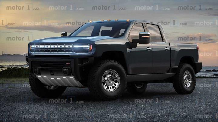 В General Motors рассказали об особенностях электрического Hummer (фото)