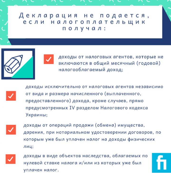 Е-декларации можно подать позднее (инфографика)