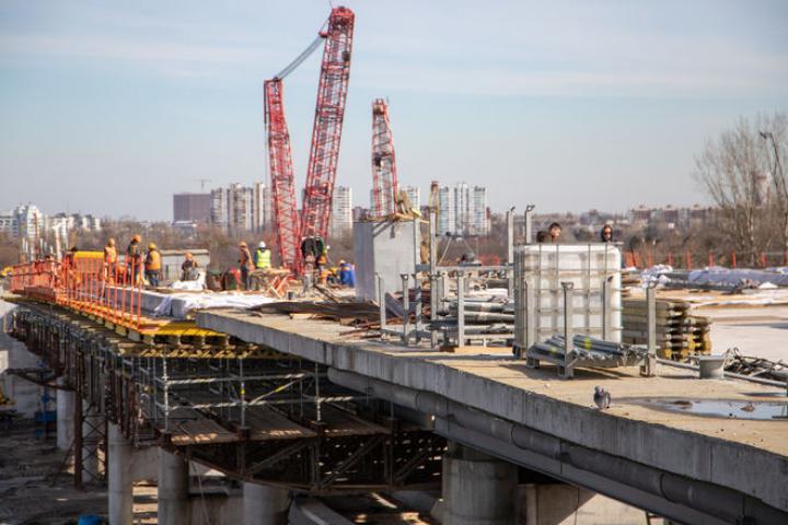 Как идет строительство Подольско-Воскресенского моста (фото)