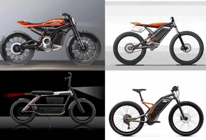 У электрических Harley-Davidson будет собственный логотип (фото)