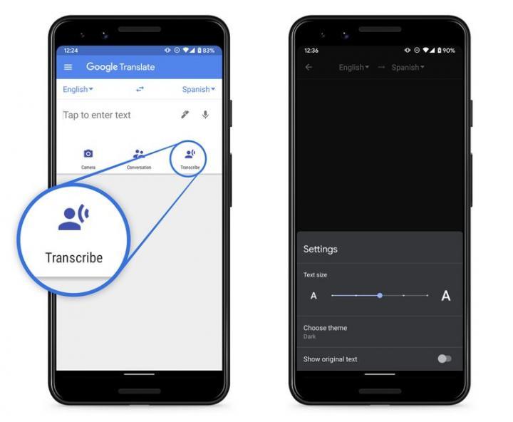 Google Translate запустил функцию синхронного перевода (фото)