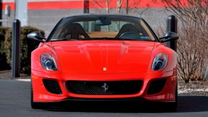Редкую Ferrari с минимальным пробегом выставили на аукцион (фото)
