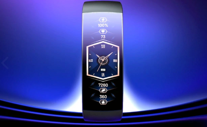Huami представила концептуальные смарт-часы Amazfit X с изогнутым дисплеем (фото, видео)