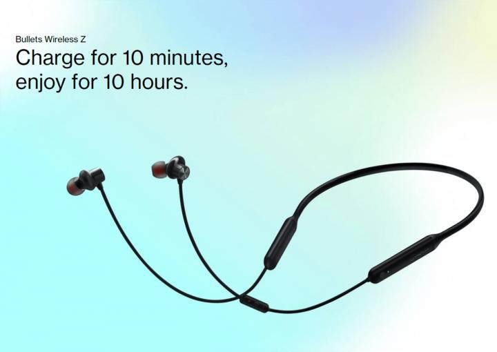 OnePlus анонсировала беспроводные наушники с автономностью 20 часов (фото)