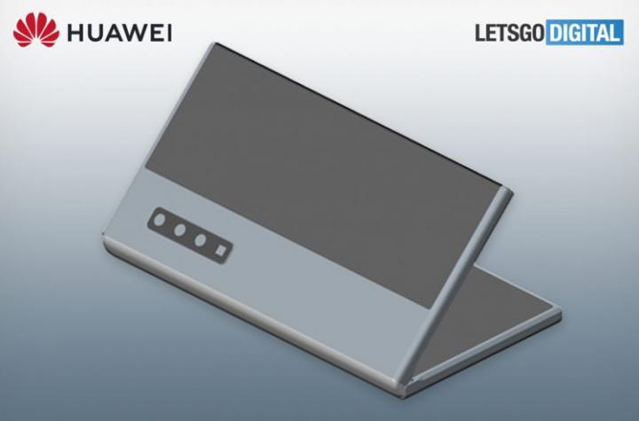 Huawei запатентовала гибкий смартфон с двумя дисплеями (фото)