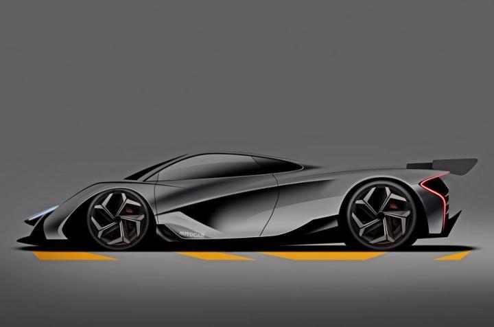 В 2024 году появится новый гибридный гиперкар McLaren (фото)