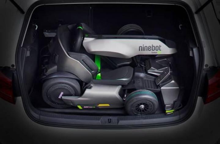 Ninebot представил оригинальный электрокарт-трансформер (фото)
