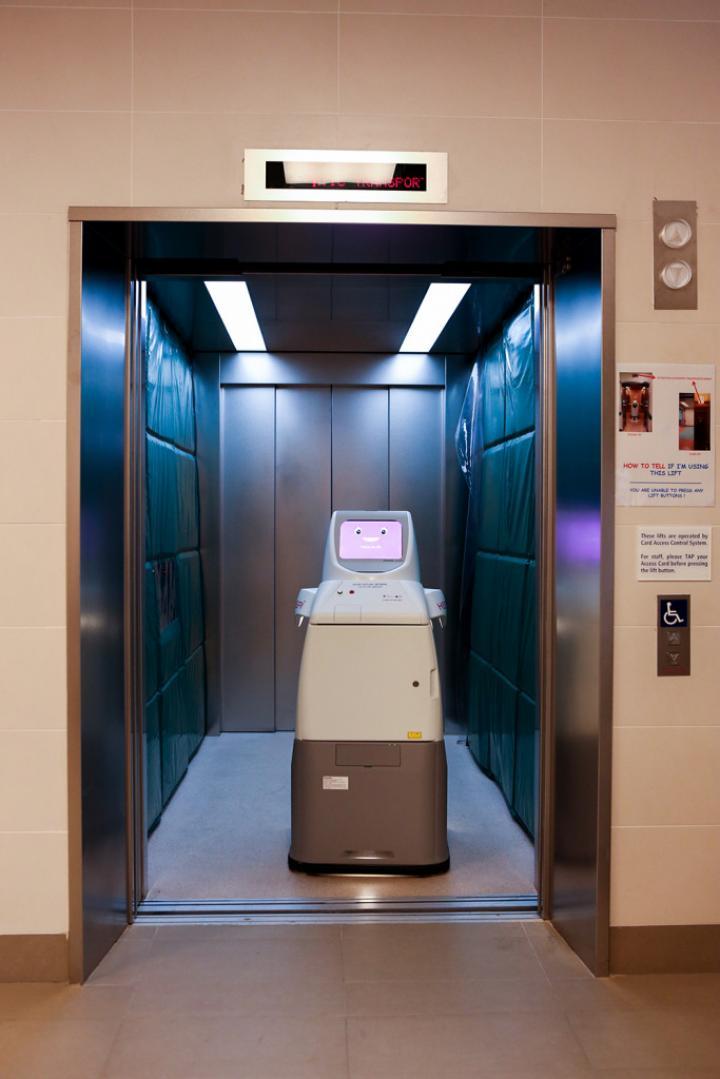 Panasonic выпустила робота для борьбы с коронавирусом (фото)