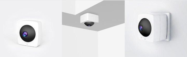 Xiaomi представила камеру наблюдения с круговым обзором (фото)