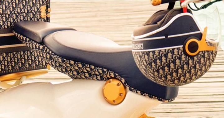 Christian Dior випустил скутер Vespa 946 (фото, відео)