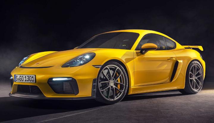Экстремальный Porsche 718 получил 7-диапазонный