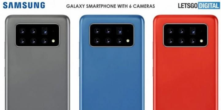 Шесть объективов. Samsung патентует смартфон с уникальной камерой