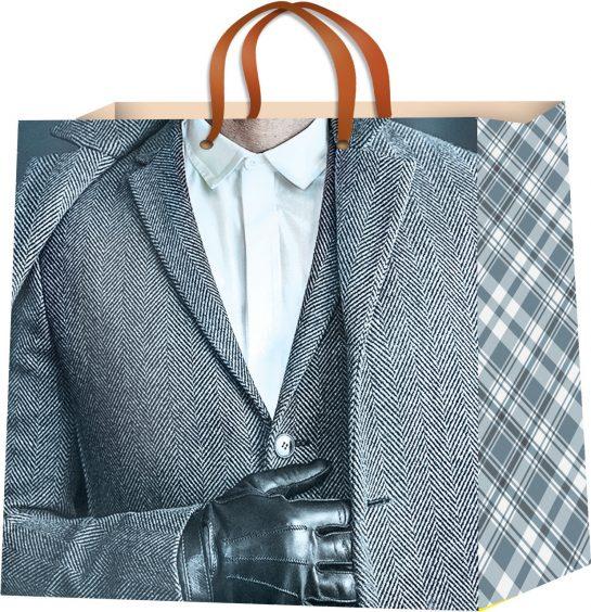 Стильные и прочные пакеты для упаковки подарков мужчинам